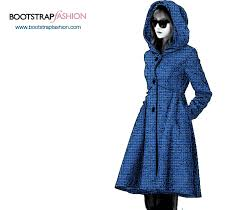 Coat Sewing Patterns Mesmerizing Bootstrapfashion CustomFit PDF Sewing Pattern Of The Coat