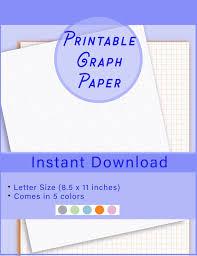 Graph Paper Pdf Printable Graph Printable Grid Paper Digital Graph Paper Graph Paper Grid Paper