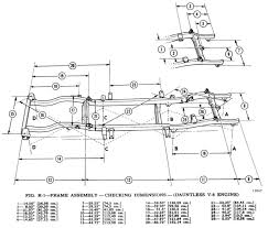 1967 jeepster commando build jeepforum com i found a diagram the measurements and will build it the way i would if i was building a hot rod frame ill post pics as it happens