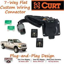 55243 curt 7 way rv trailer wiring connector harness fits ford super image is loading 55243 curt 7 way rv trailer wiring connector