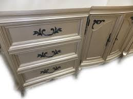 silver painted furniture. This Warm Silver, Champagne MAHOGANY Beauty Will Be For Sale At St. Louis Vintage Market Days. Who Is Gonna Come And Get Her?! Silver Painted Furniture