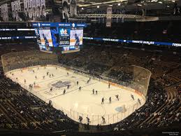Scotiabank Maple Leafs Seating Chart Scotiabank Arena Section 305 Toronto Maple Leafs