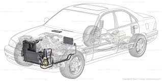 car air conditioning system components. generic car ac air conditioning layer system components