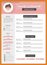 Modern Resume Format Fascinating Modern Resume Formatideas Collection Modern Resume Template Cv By
