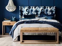 Blue And White Bedhead Image From Heatherly Design