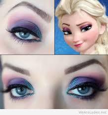 games elsa stardoll makeup tutorial tutorial costume 2016 glitter disney frozen elsa eye makeup for diy snow princess