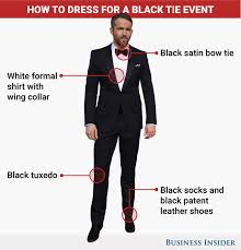 what does black tie mean