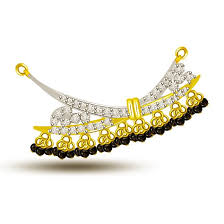 you are my dream diamond gold mangalsutra pendants