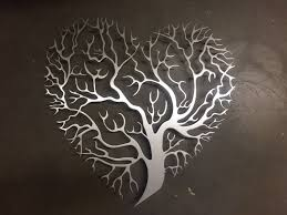 home decor details heart shaped tree metal wall art koofubo on metal artwork wall hangings with metal wall art get to know the different types blogbeen