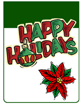 Free Holiday Photo Greeting Cards Happy Holidays Free Printable Greeting Cards Template