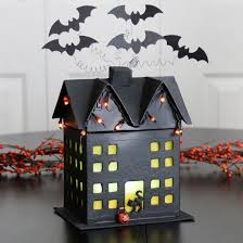 ... DIY Light Up Haunted House