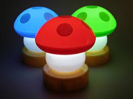 1. Mushroom Lamp