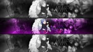 SPEEDART | Anime YouTube Banner Template | Naruto/Konan Banner