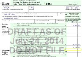 Understanding Taxes Simulation Using Your W 2 To File Your 1040ez