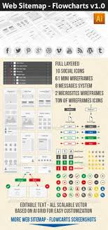 intressing web sitemap kit for web designer