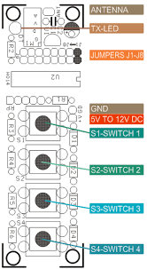 channel rf remote control circuit diagram  4 channel rf remote controller electronics lab on 4 channel rf remote control circuit diagram