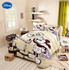 disney mickey mouse sanding bed cover 3 4 5 pcs queen size comforter bedding