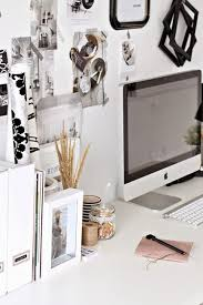 small home office decor. Black And White Decorating Ideas For Small Home Office Designs Craft Rooms Decor