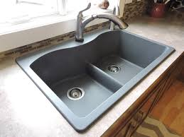 Elkay Signature Dropin Stainless Steel 33 In 4Hole Single Bowl Home Depot Kitchen Sinks Top Mount