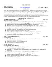 Best Resume Samples Best Resume Samples For Sales And Marketing Refrence Sample Resume 51