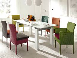 multi colored dining room set inspirationa dining chairs dining table chair colors dining room chairs