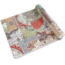 Teppichläufer Tesoro Patchwork Muster Im Vintage Look Viele Größen