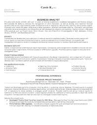 Resume Data Analyst Adorable Business Analyst Sample Resumes Sample Resumes For Business Analyst