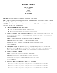 Meeting Of Minutes Format Free Business Meeting Minutes Format Templates At