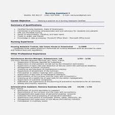 Cpr Certification On Resume Awesome Nursing Assistant Resume Fresh Cool Cpr Certification On Resume