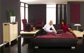 modern bedroom black and red. Red And Black Interior Design Bedroom Decor Modern N