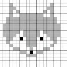 Coloriage Pixel Art A Imprimerl