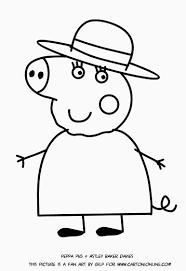 Disegni Stampa E Colora Media Peppa Pig Disegni Da Stampare Con