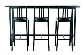 outdoor bar sets with stools tall pub table and chairs for set of 4