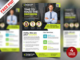 Corporate Flyer Design Templates Free Psd By Psd Freebies On