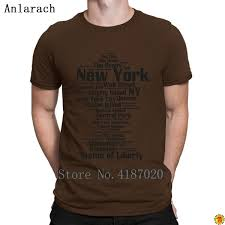 Park Avenue Shirt Size Chart New York Ny Nyc Tshirts Classic Crazy Top Tee Spring Autumn Tshirt For Men Fitted 100 Cotton Trend Anlarach Design T Sh Fashion Shirt From Dzupright