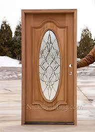 cl 106 mahogany entrance door