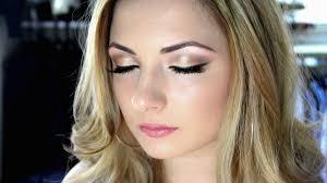 makeup tutorial soft wedding makeup using the 1 palette ellie cher you