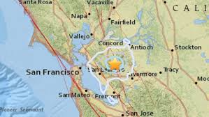 The loma prieta earthquake took place in the san francisco bay area on october 17, 1989. Swarm Of Earthquakes Rattles San Francisco Bay Area Los Angeles Times