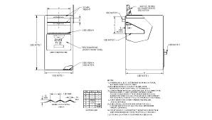 mailbox flag dimensions. Detailed Drawing Of A LOCKED MAILBOX (FULL SERVICE). Mailbox Flag Dimensions
