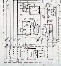 cr4 th avr for 100 kva alternator the wiring diagram hope it will be clear also i will write up the explanations of what i have done in word and see if i can insert it to the post