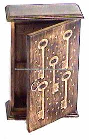 Decorative Key Boxes Wooden Wall Hanging Key BoxWall Wooden Key BoxVintage Style 17