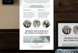 Weekly Newsletter Template Magnificent Photography Newsletter Template For Email Pinterest Etsy