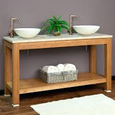 bathroom brilliant small tables for console double vessel sink table prepare shelves above toilet towels