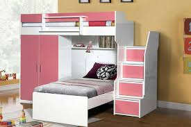 bed with wardrobe.  With Brave High Sleeper Bed With Wardrobe And Single Throughout M