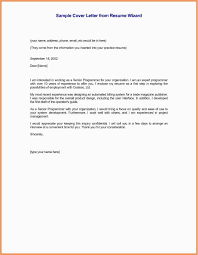Senior Executive Resume Examples Examples Letter Employment Interest