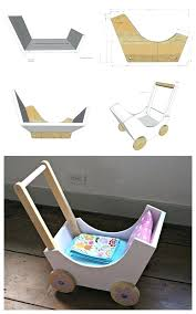 from wood ss build the pram bottom and ends with pocket holes on underside project type toys room kidaking doll furniture for 18 inch dolls