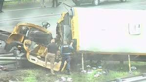 2 Dead, Dozens Hurt in Obliterating NJ School Bus Crash: Sources ...