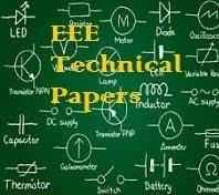 technical paper presentation topics for electrical engineering technical paper presentation topics for electrical engineering krazytech