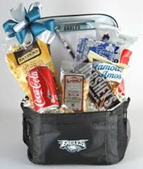 philadelphia eagles snack cooler giftcustom gift baskets shipped or delivered locally