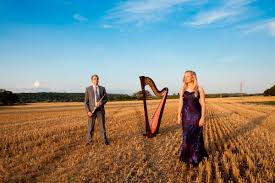 Paul Reade Victorian Kitchen Garden Sonata Duo Harp Clarinet Duo Essex Alive Network